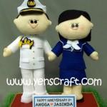 Boneka Anniversary TNI AL
